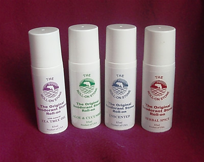 crystal deodorants roll-ons