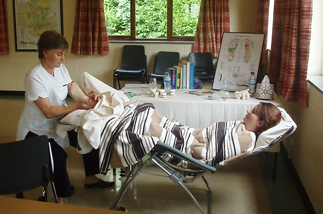 Reflexology Students